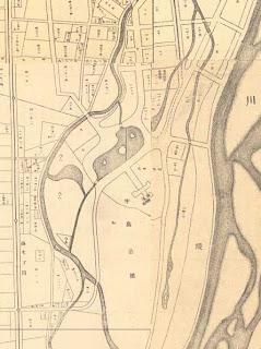 札幌市都市計画内地番入精細図昭和3-図2図3図6図7合成