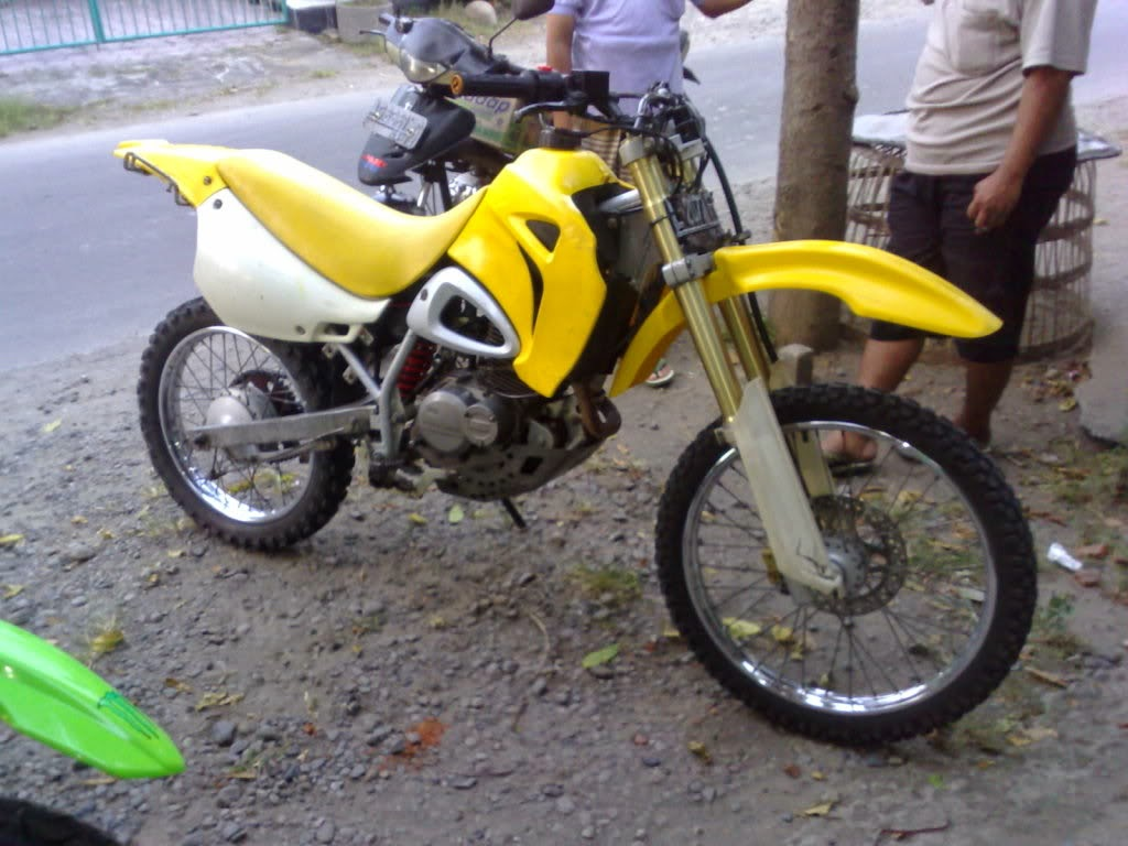 Suzuki Shogun Modifikasi Trail