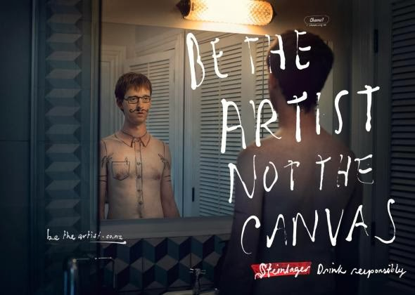 Be The Artist Not The Canvas, Steinlager Beer PSA