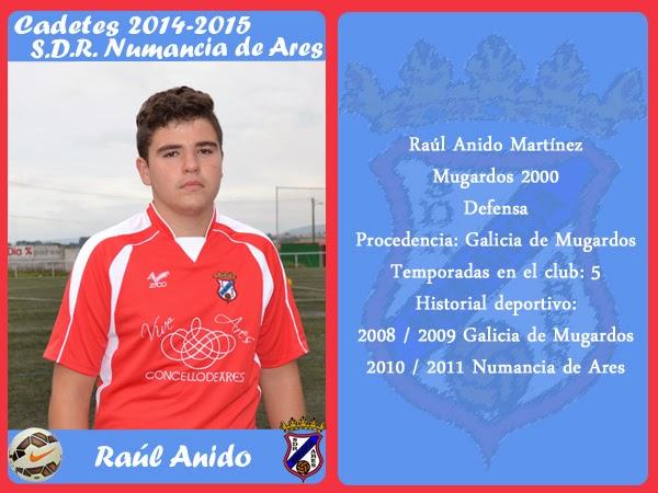 ADR Numancia de Ares. RAUL.
