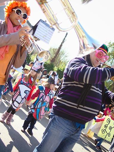 Carnaval de l'école maternelle R. Rolland - avril 2014