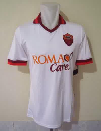 Jual Jersey AS Roma Away 2014 Warna Putih Terbaru