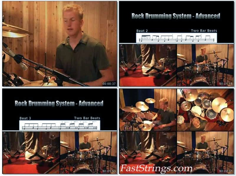 Jared Falk - Rock Drumming System