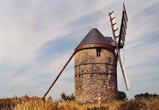 Moulin de La Roche, à La Possonnière