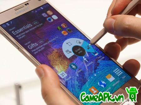 Hướng dẫn chụp màn hình trên Samsung Galaxy Note 4