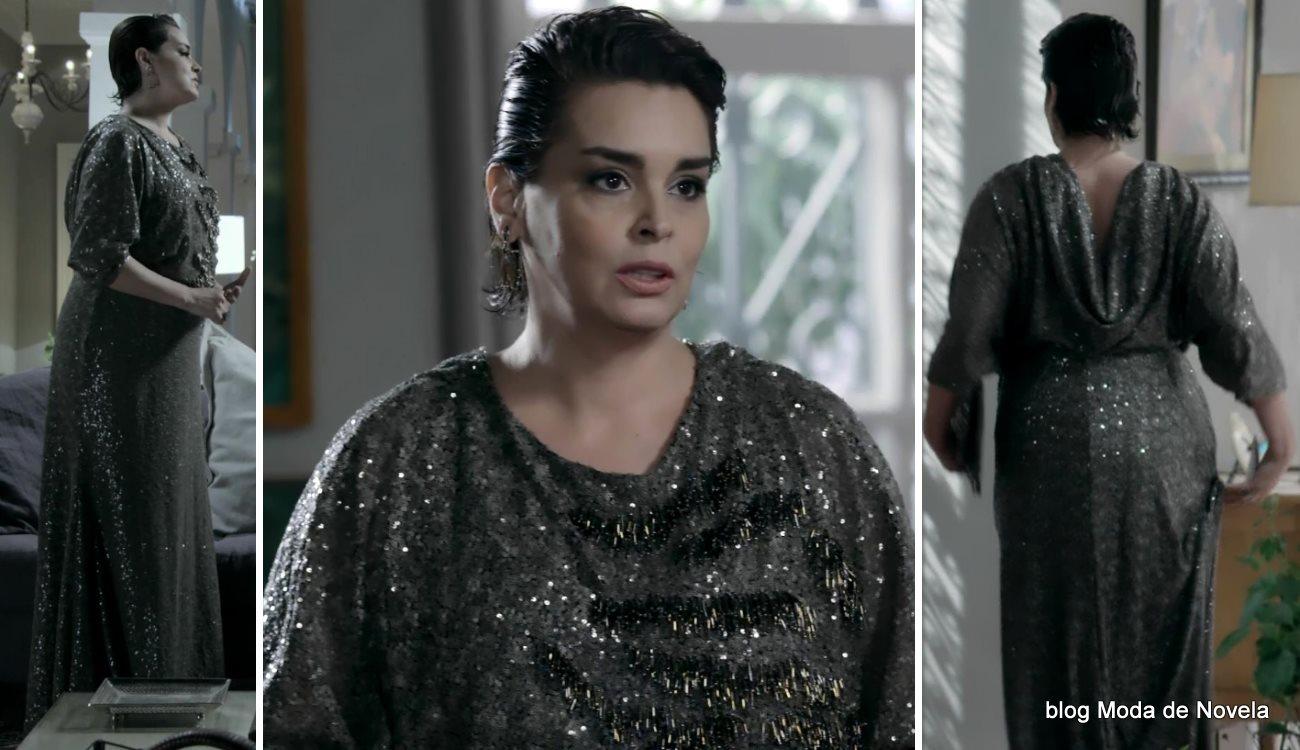 moda da novela Império, look da Beatriz no casamento da Maria Clara