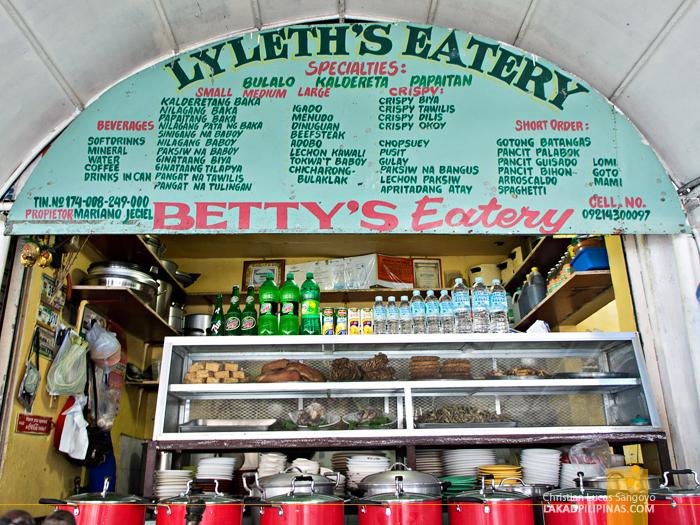 Betty's Eatery or Lyleth's Eatery at Tagaytay's Mahogany Market Bulalohan