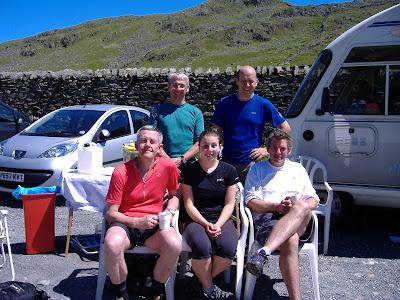 Paul & Nicola Henson, Tony Collier, Peter Yerbourgh & Richard Tyzack
