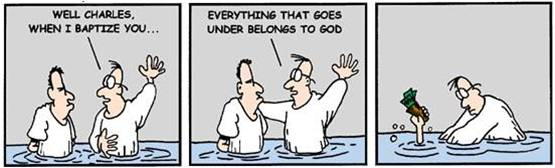 Baptism Cartoon