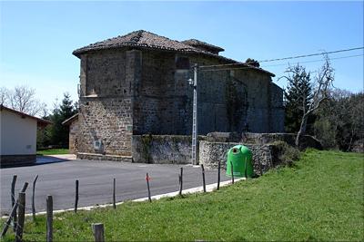 Iglesia de la Natividad en Elgea, fin de la circular