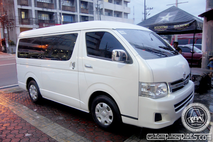 Kathryn Bernardo Toyota Hi Ace Grandia Atoy Customs Custom Pinoy Rides pic2