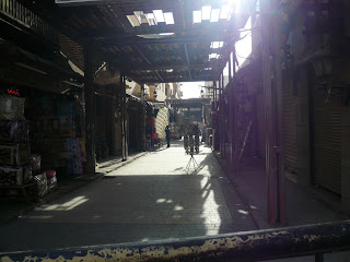 Streets of Luxor 3pm on 1st. March 2011