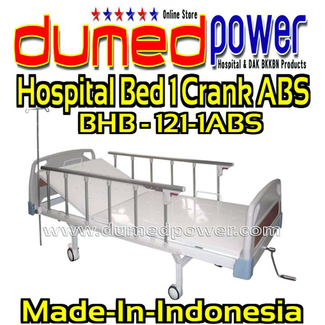 Hospital-Bed-1-Crank-ABS-BHB-121-1ABS