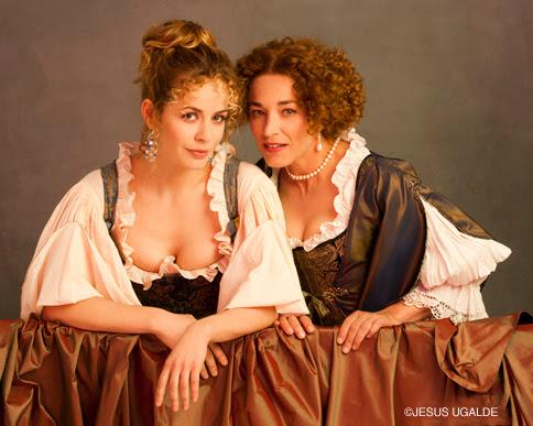 María Adánez y Cristina Marcos