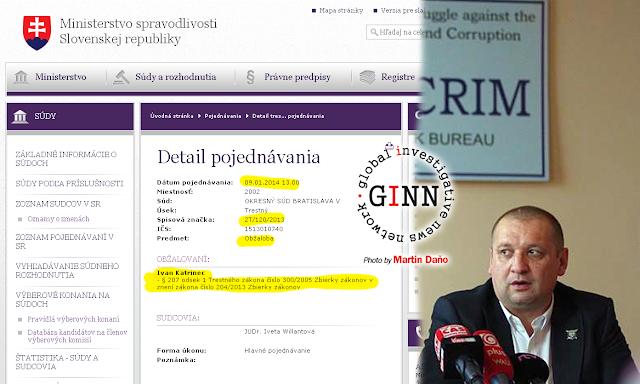 Ivan Katrinec, obžalovaný, alimenty