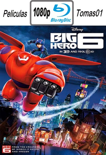 Big Hero 6 (6 Grandes Heroes) (2014) (BRRip) BDRip m1080p