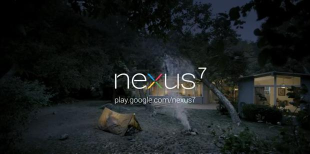 Google Nexus 7 Commercial — Camping