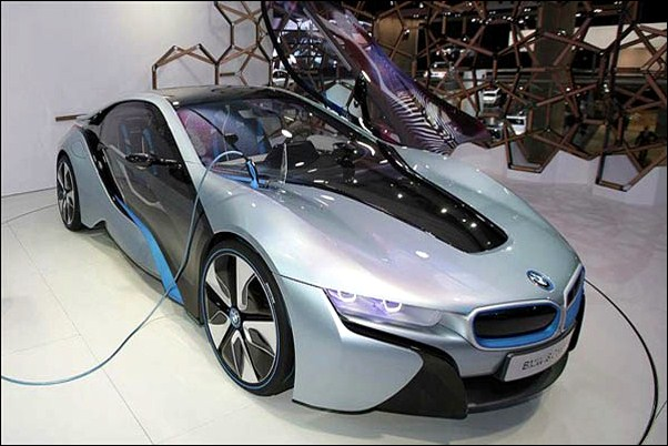 BMW i8 Spyder Car Photo
