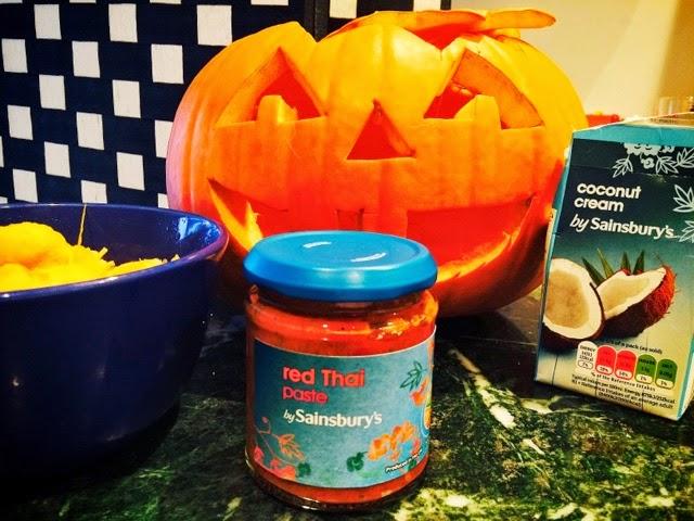 halloween pumpkin recipes thai curried pumpkin soup the betty stamp