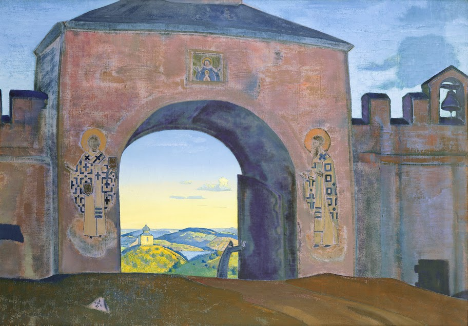 Nicholas Roerich - And We are Opening the Gates