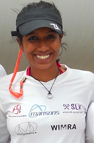 J/24 sailor in India- Ayesha Lobo- top Women's Match Racer