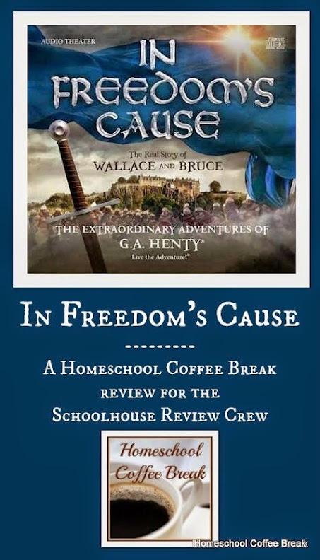 In Freedom's Cause Review @ Homeschool Coffee Break kympossibleblog.blogspot.com