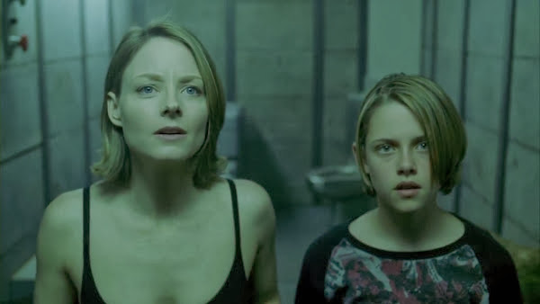 Screen Shot Of Hollywood Movie Panic Room (2002) In Hindi English Full Movie Free Download And Watch Online at Alldownloads4u.Com