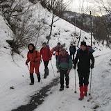Ciaspole 23 Dicembre 2012 Rodoretto Bergerie Balma