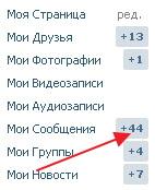 Читать сообщения Вконтакте
