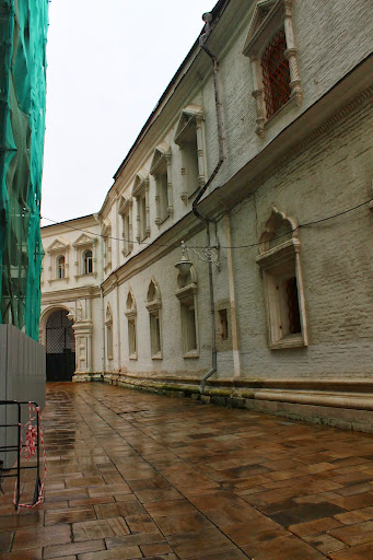 Kremlin courtyard