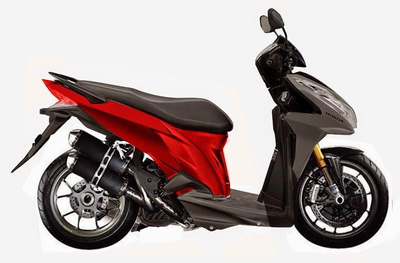 Honda Vario Modifikasi Ban Besar