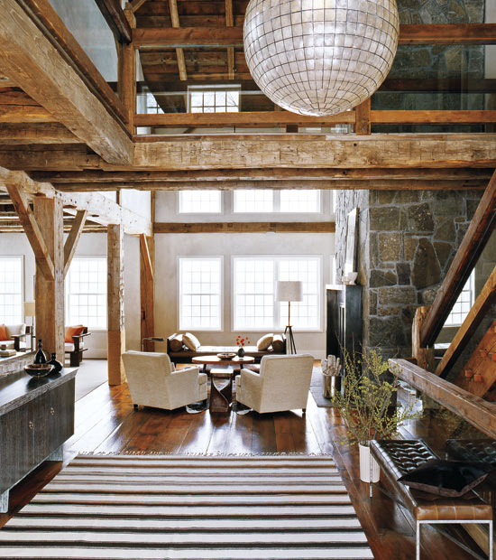 Mix And Chic Beautifully Mixed Rustic Chic Interiors