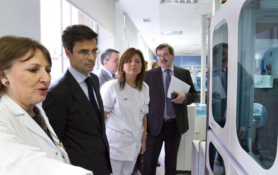 Nuevas instalaciones del servicio de Análisis Clínicos del Hospital de la Princesa