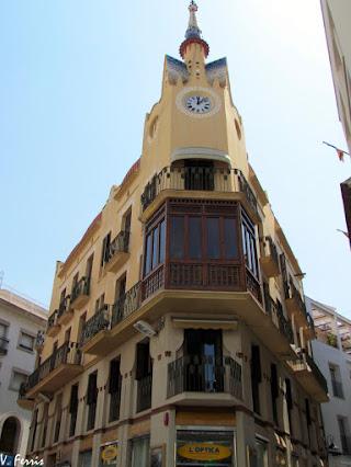 Can bartomeu carbonell barcelona modernista - Arquitecto sitges ...