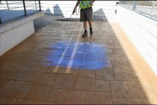 Caminos y accesos al jard n con pavimentos de hormig n for Hormigon impreso foro