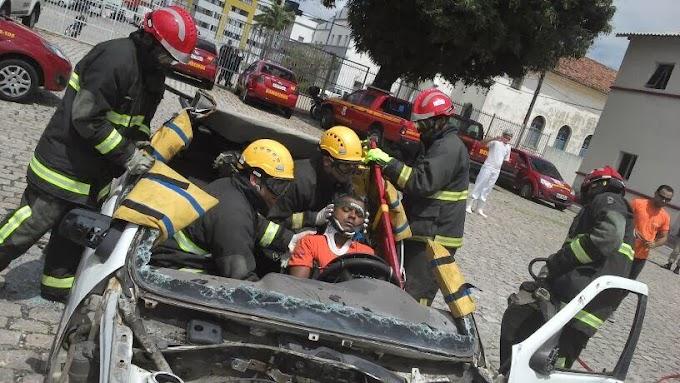 RN: Bombeiros recebem capacitação para Salvamento de Vítimas presas em ferragens de veículos