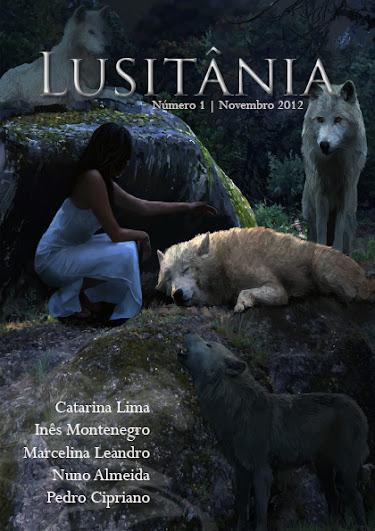 Capa da revista Lusit�nia