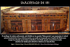 Sarcófago de Ibi. Cultura egipcia