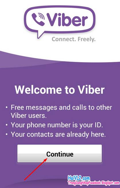 chào mừng tới viber