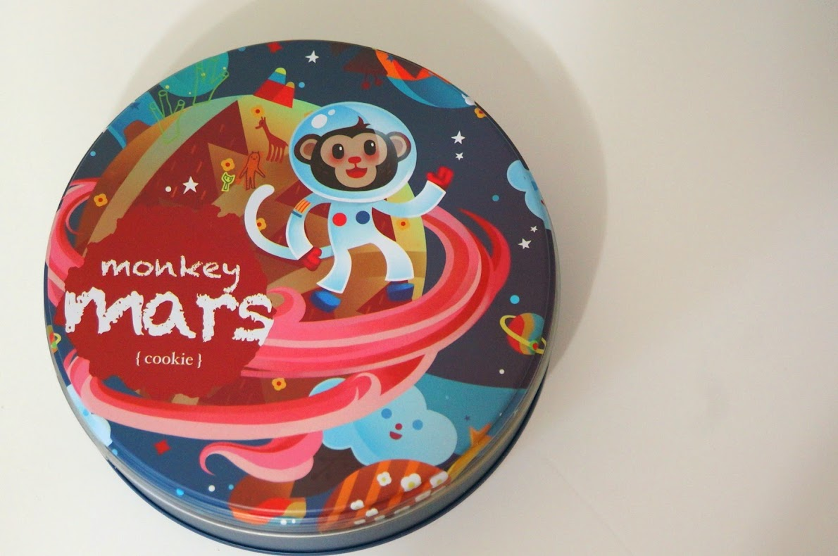 團購美食-俏皮富有童趣【Monkey Mars酷奇餅】