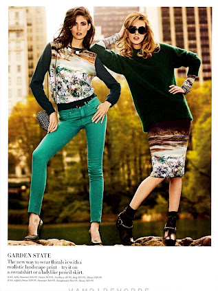 Kendra Spears & Julia Frauche - H&M Fall 2012