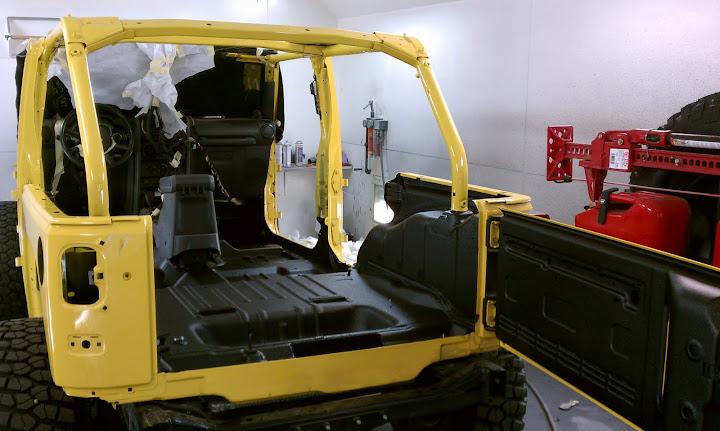 Bed Lining Interior Jeep Wrangler Jk Forum