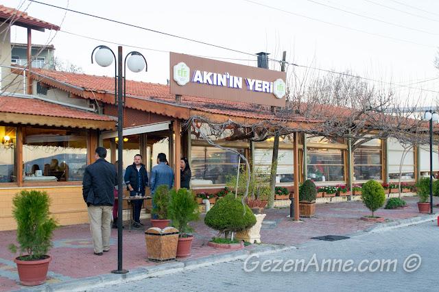Akın'ın Yeri restoranı, Özbek Köyü, Urla İzmir