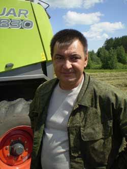 механизатор В. Гараев