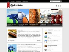 Light-Station WordPress Theme