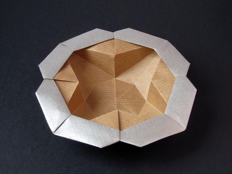 Origami foto Scatola Stella-fiore - Flower-star box, Francesco Guarnieri