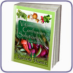Vitamin Confusion Solution by Raederle Phoenix