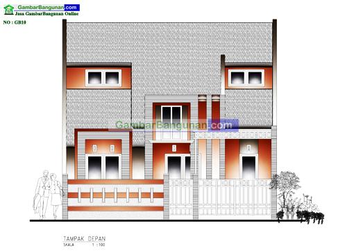 Desain rumah minimalis perumahan di kalimantan