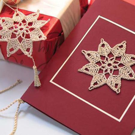 estrela natal croche