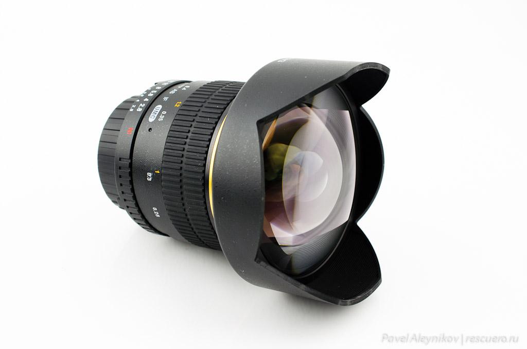 Объектив Samyang AE 14mm F2.8 ED AS IF UMC for Nikon